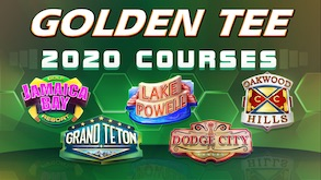 Golden Tee 2020 Courses